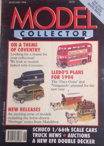 ORIGINAL MODEL COLLECTOR MAGAZINE January 1994